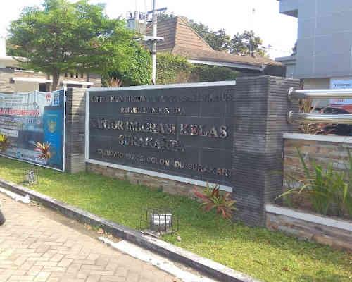 Alamat Telepon Kantor Imigrasi Kelas I TPI Surakarta - Jawa Tengah