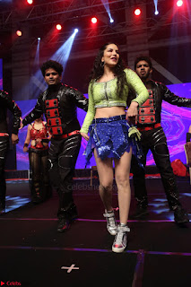 Sunny Leone Dancing on stage At Rogue Movie Audio Music Launch ~  141.JPG