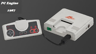 Consola PC Engine - 1987