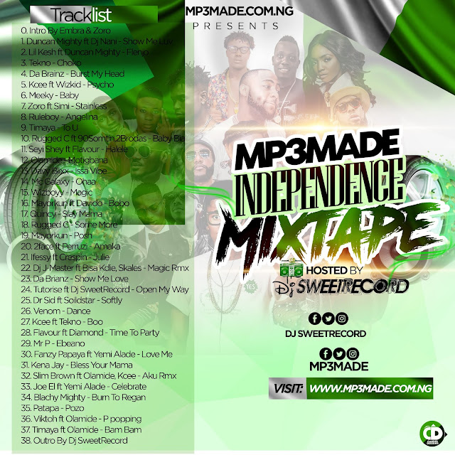 tracklist-mp3made-independence-mixtape-www.mp3made.com.ng