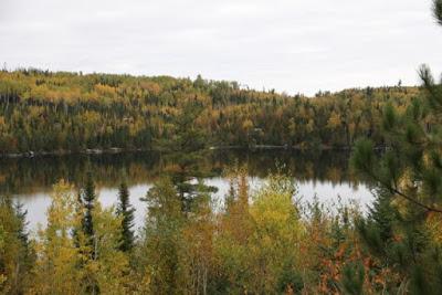 Birch Lake on the Gunflint Trail