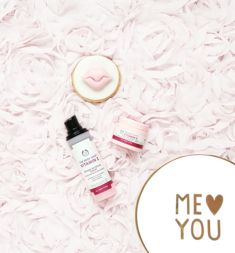 Nowości w mojej kosmetyczce The Body Shop Vitamin E serum + krem do twarzy