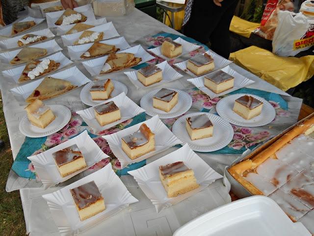 ciasto, słodkości, smakołyki, jarmark