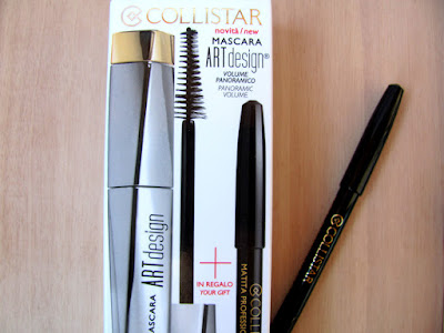 Упаковка туши Collistar Art Design и карандаша Collistar Professionаl Eye Pencil