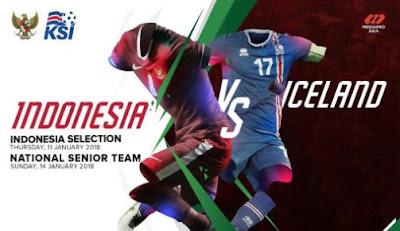 Daftar Pemain Timnas Indonesia Selection vs Islandia