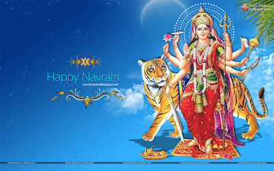 Navratri Puja Wallpaper Download