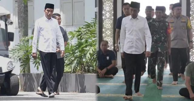 Misteri Wajah Murung dan Tegang Jokowi