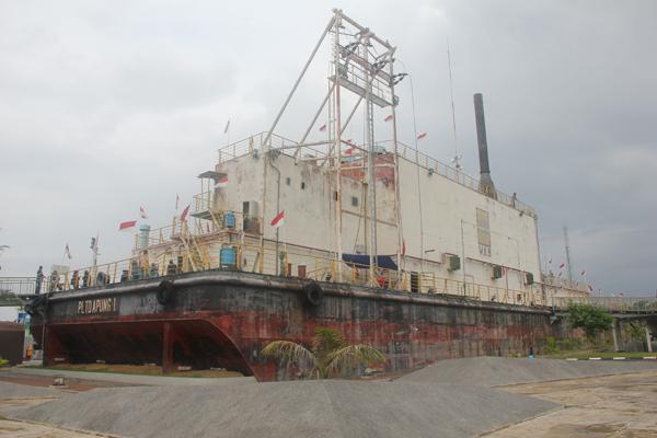 """Kapal Sangkut """"Gampong Lampulo"""""""
