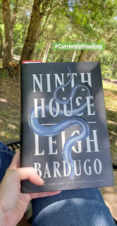 #CurrentlyReading Ninth House by Leigh Bardugo