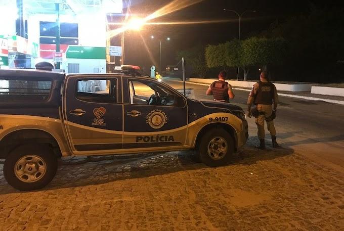 Dupla é presa em Várzea da Roça após cometer assalto em Gavião