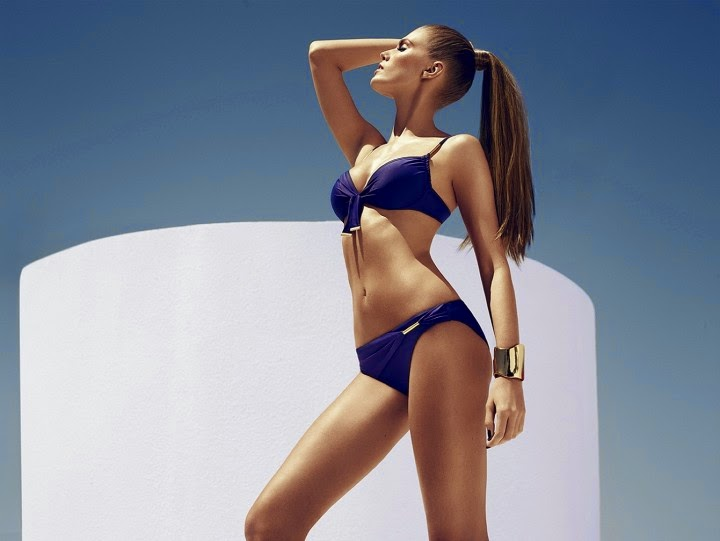 Chantelle Swimwear Spring/Summer 2014 featuring Maryna Linchuk