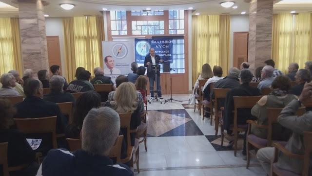 Ελληνική Λύση: Προεκλογική ομιλία Κ. Βελόπουλου στο Ναύπλιο