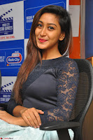 Shravya in skirt and tight top at Vana Villu Movie First Song launch at radio city 91.1 FM ~  Exclusive 47.JPG