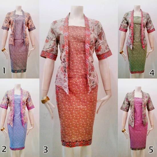 Toko Baju Batik Solo: Model Baju Batik Terbaru RnB Nowela Series