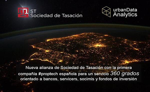 Sociedad de Tasación y urbanData Analytics elBlogInmobiliario.com
