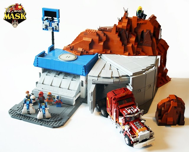 M.A.S.K. Lego Creations
