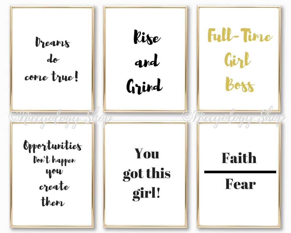 Quotes To Hang Up In Your Room