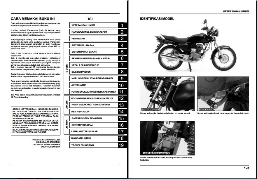 SAMBERMATA: BUKU MANUAL SEPEDA MOTOR