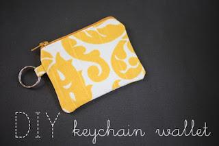 DIY Keychain Wallet