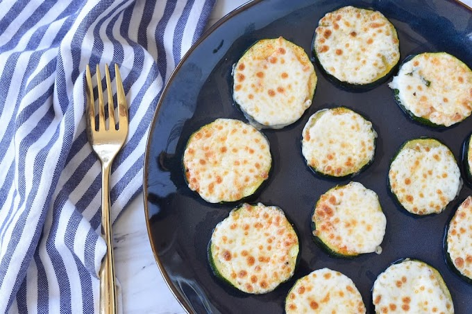 Baked Zucchini with Mozzarella #healthy #food