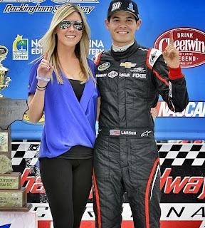 Katelyn Sweet And Kyle Larson