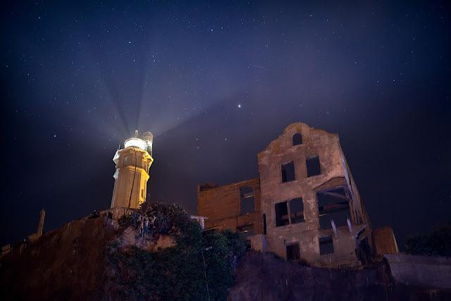 Le phare de L'île d'Alcatraz