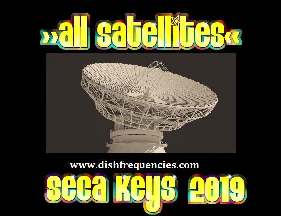 Dish Frequencies: Updated Seca keys 2019