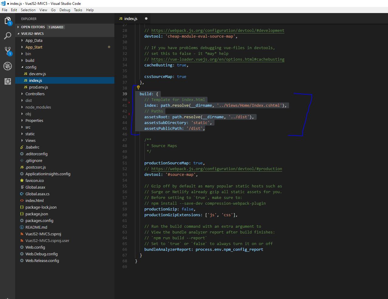 Boilerplate: Vue js + ASP NET MVC 5