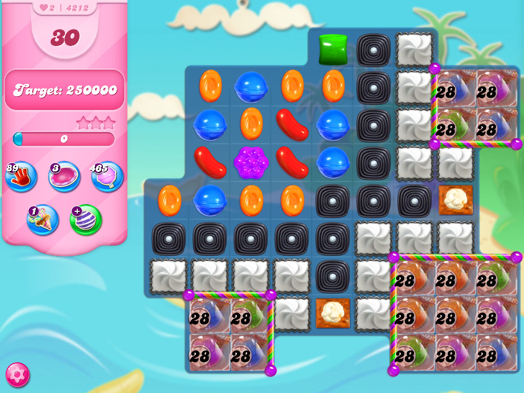 Candy Crush Saga level 4212