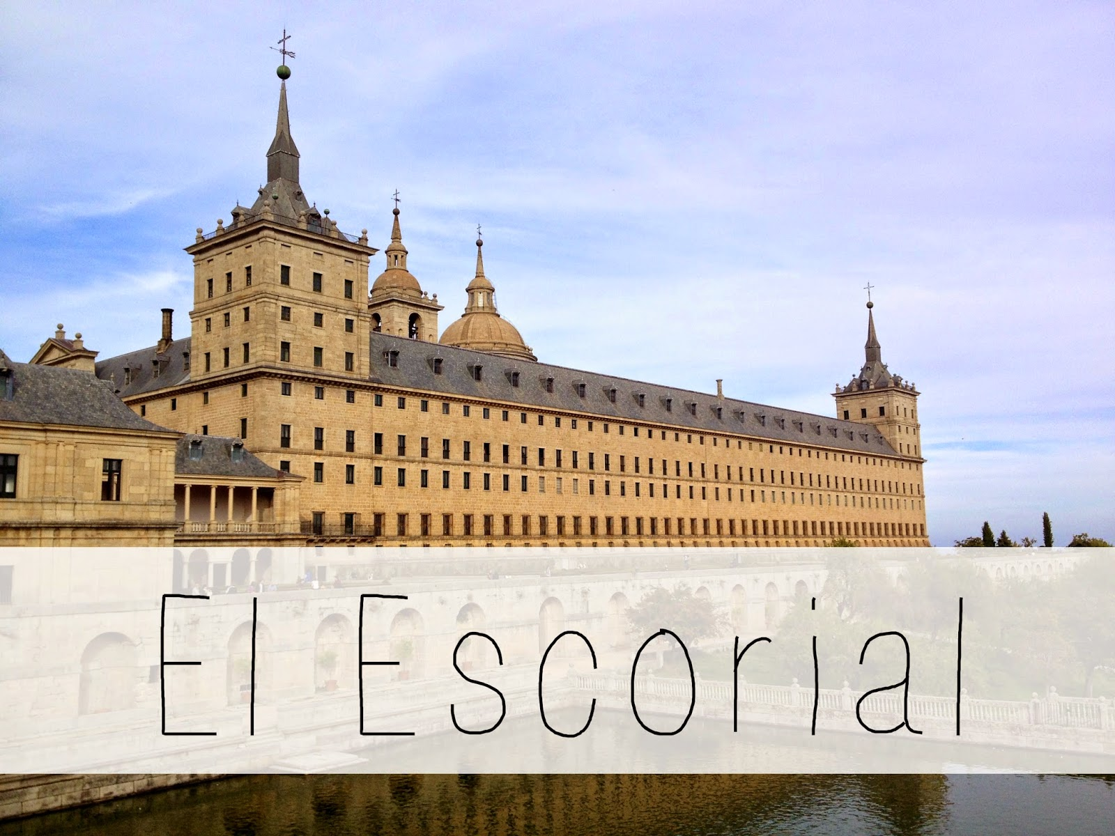 El Escorial: 5 best day trips from Madrid - all less than 2 hours away from the city center! | adelanteblog.com