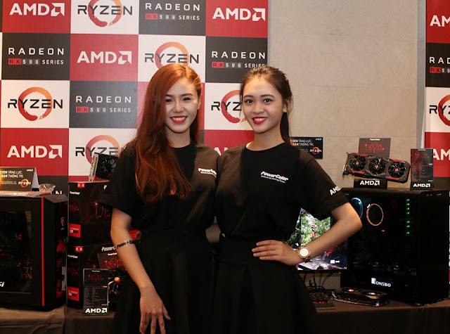 AMD chính thức giới thiệu CPU Ryzen và card đồ hoạ Radeon RX500 tại Việt Nam