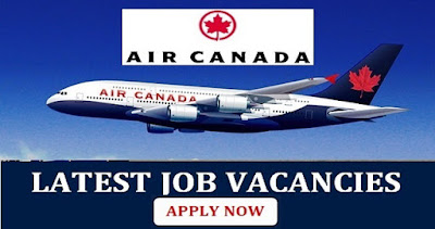Latest Job Vacancies In Air Canada