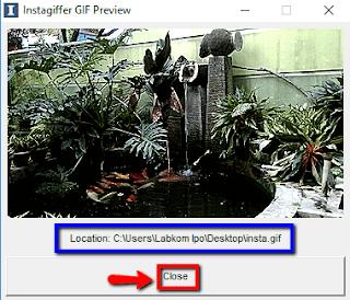 Langkah-langkah cara membuat foto nyentrik Cinemagraph pada Windows