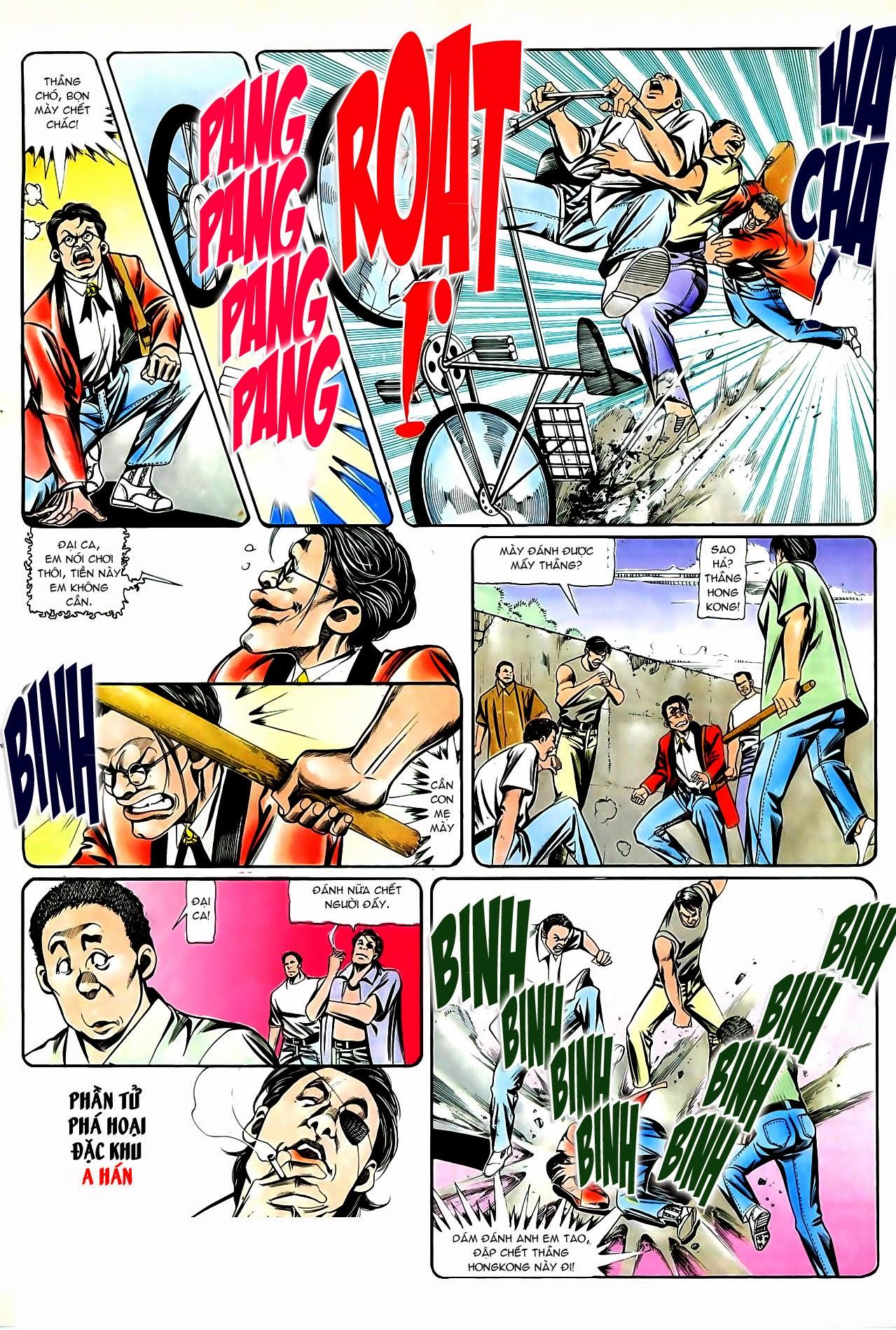 Người Trong Giang Hồ chapter 87: chống lưng của a khôn trang 20
