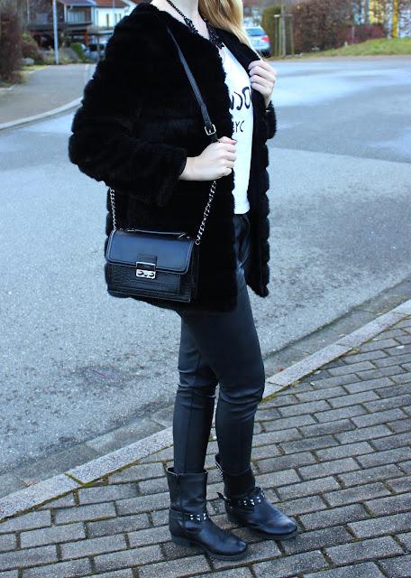 Jahresrückblick 2013 mit Outfit Fake Fur Jacke