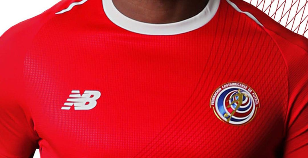 costa rica 2018 world cup home kit released footy headlines