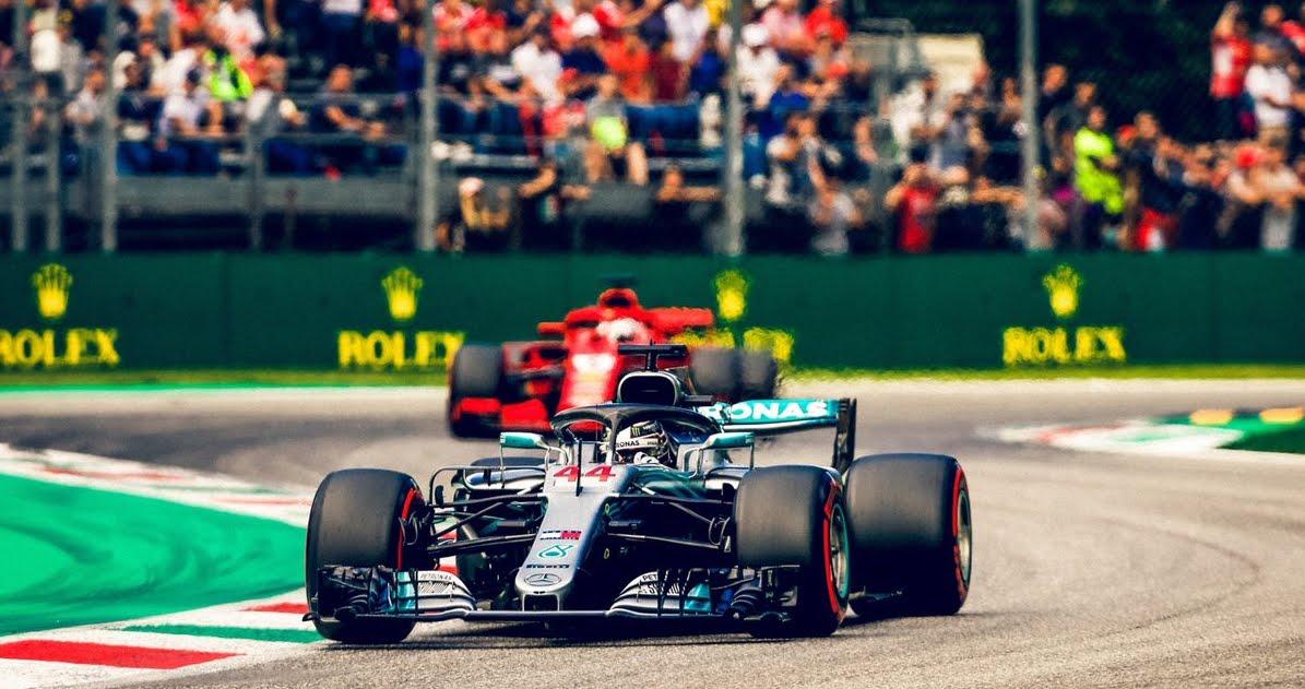 Hamilton trionfa a Monza, Ferrari 2° con Kimi e 4° con Vettel in rimonta | Motori Formula 1 2018 GP Italia.