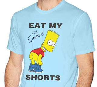 Bart Simpson Eat My Shorts #quote