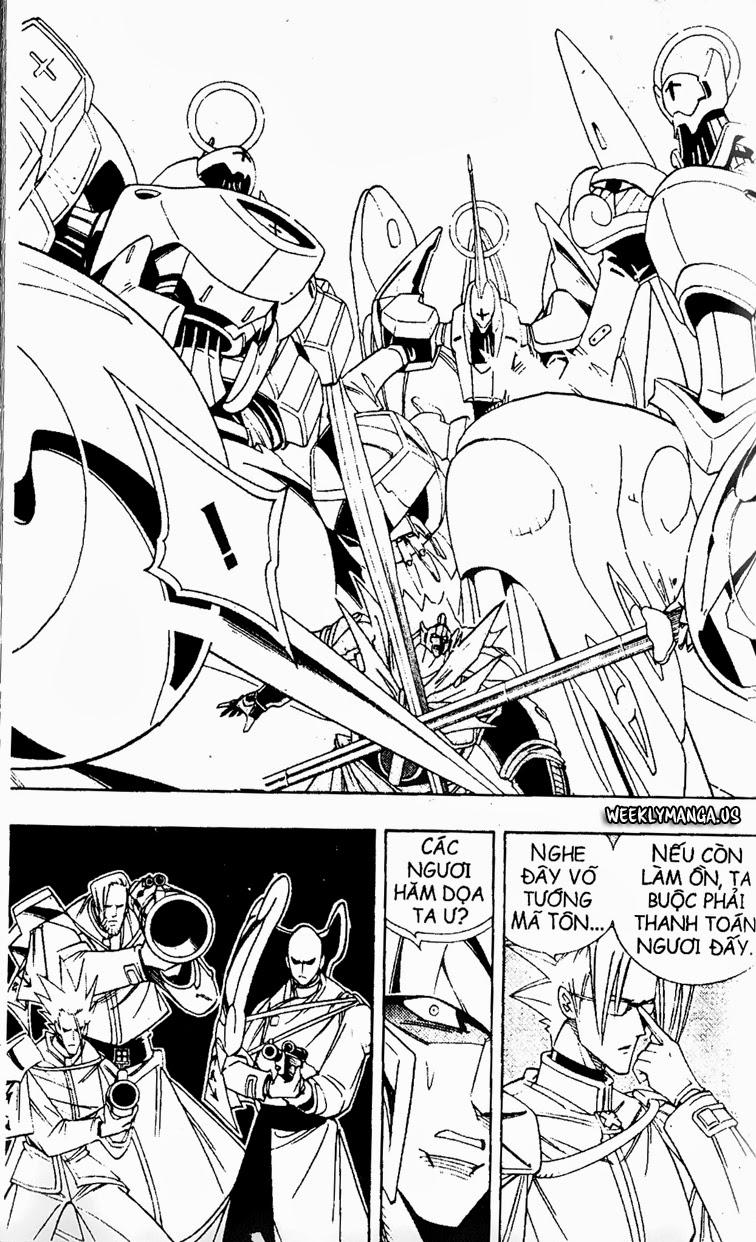 Shaman King [Vua pháp thuật] chap 178 trang 16