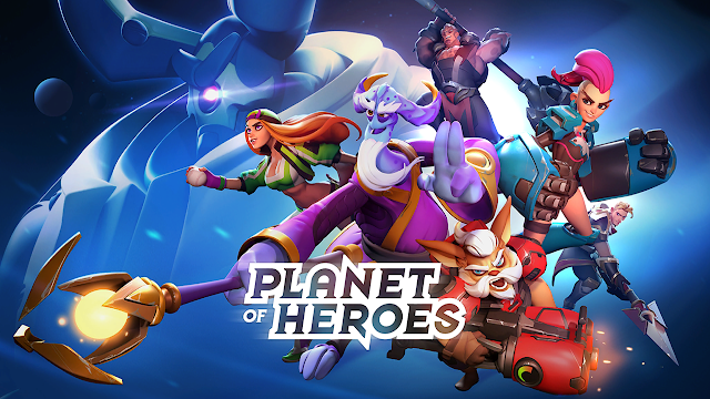 Game Moba Analog 5 vs 5 Planet Of Heroes Bertema Fantasi Luar Angkasa