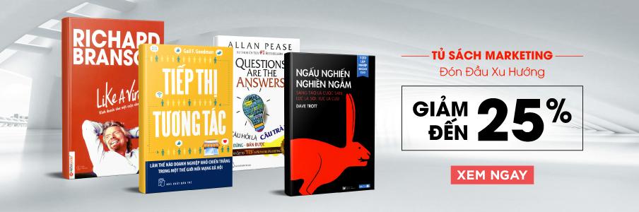 Những quyển sách hay về makerting và bán hàng nên đọc