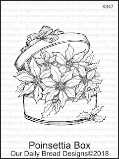 Stamp: Poinsettia Box