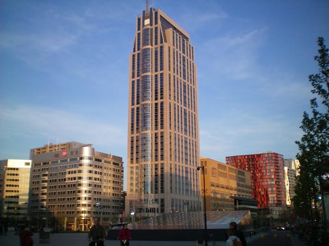 Edificios zona Estación central de Rotterdam