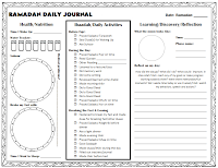 Ramadan Journal Template