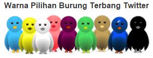 Cara Memasang Logo Burung Terbang Twitter Di Blogger