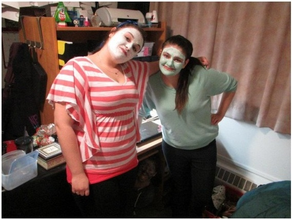 Scary Makeup Picture Puzzle for Adults