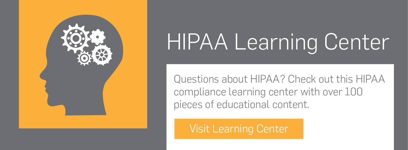 HIPAA compliance learning center