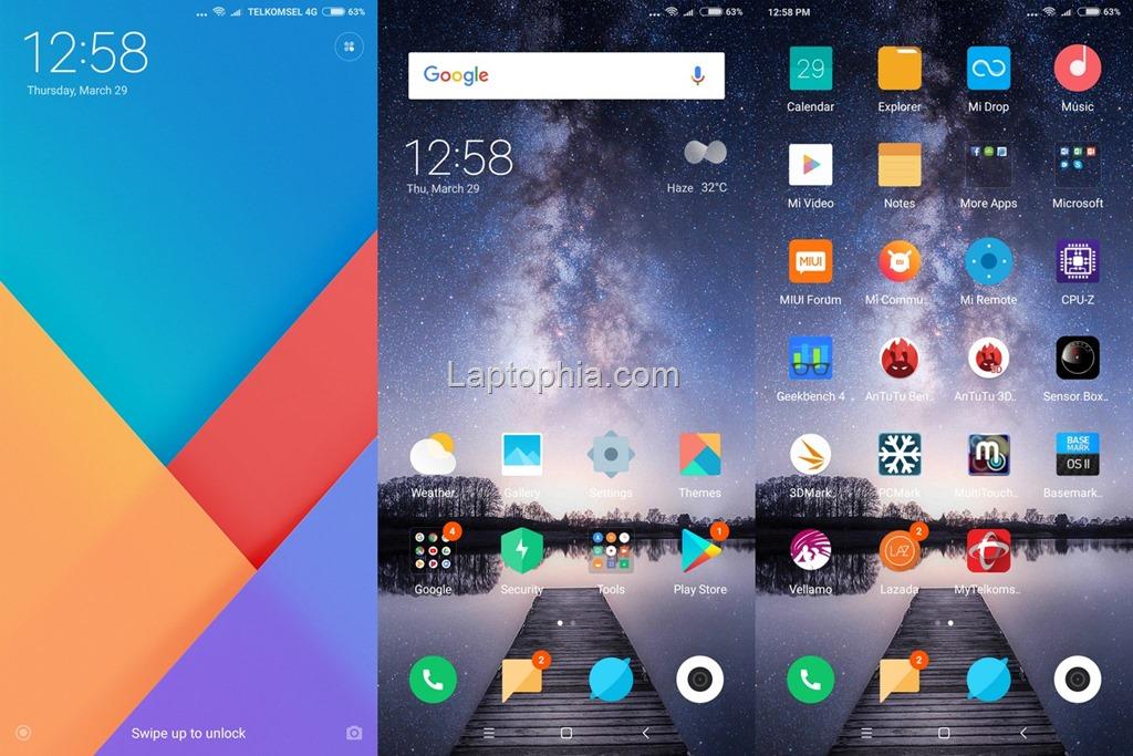 Software & Fitur Xiaomi Redmi 5 Plus