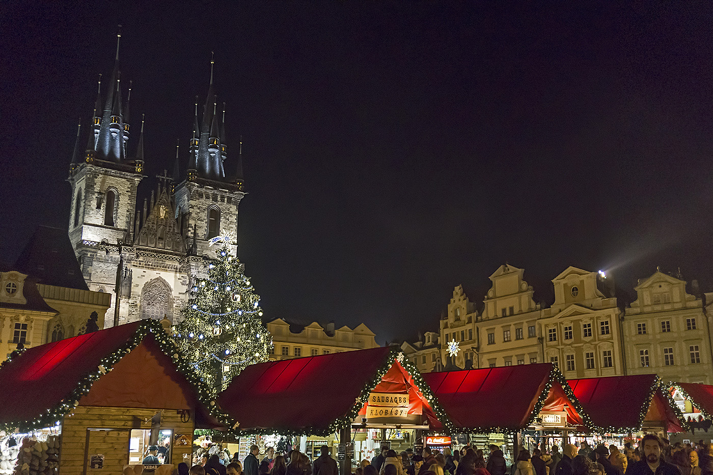 Prague, Czech Republic Christmas markets