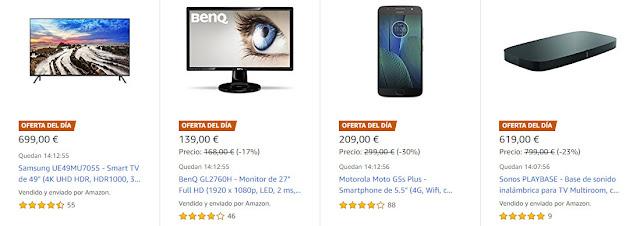 Ofertas Amazon 5 de junio de 2018